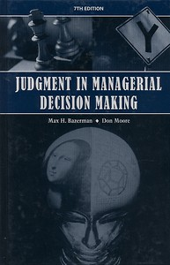 Judgement in management