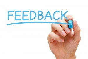 De regels voor het geven en ontvangen van feedback