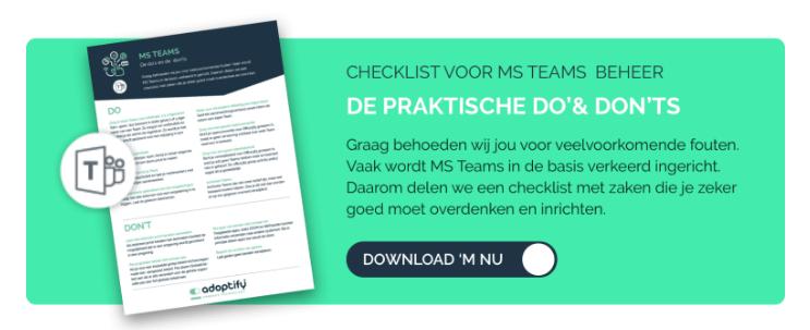 checlist-voor-ms-teams-beheer