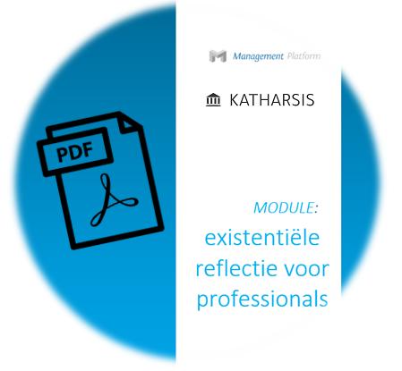 Existentiële reflectie voor professionals